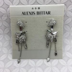 ALEXIS BITTAR Crystal Encrusted Paisley earring
